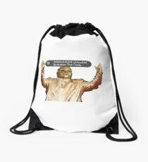 Cee lo God Drawstring Bag