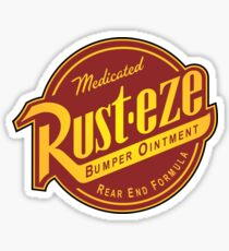 Rust-eze Medicated Bumper Ointment Sticker