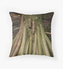 Pee Pee Tree Throw Pillow