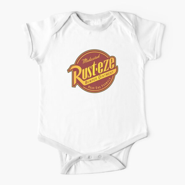Rust-eze Medicated Bumper Ointment Short Sleeve Baby One-Piece