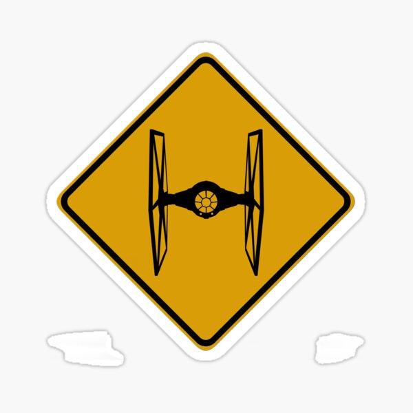 TIE Crossing Sticker