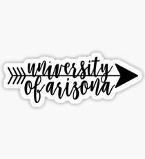 University of Arizona Sticker