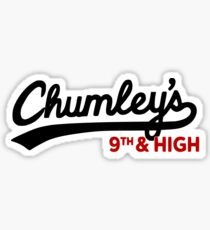 Chumley's 9th & High  Sticker