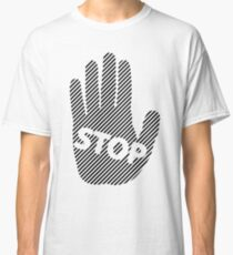 Stop hand Classic T-Shirt