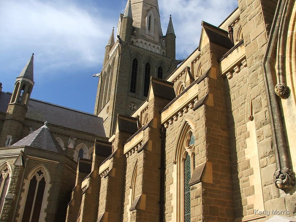 Bendigo Cathedral by Karly Morris