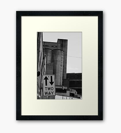 Nylex Silo v.2 Framed Print