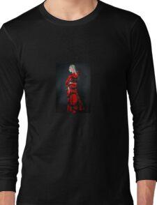 Latex Dress Long Sleeve T-Shirt