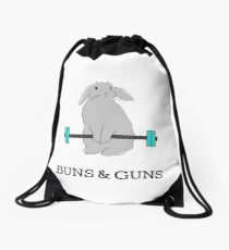 BUNS & GUNS Drawstring Bag