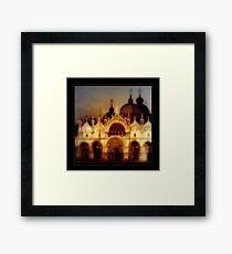 San Marcos Basillica, Venice Framed Print