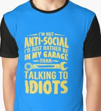 Talking to idiots Graphic T-Shirt