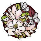 Magnolias by Jessica Fittock