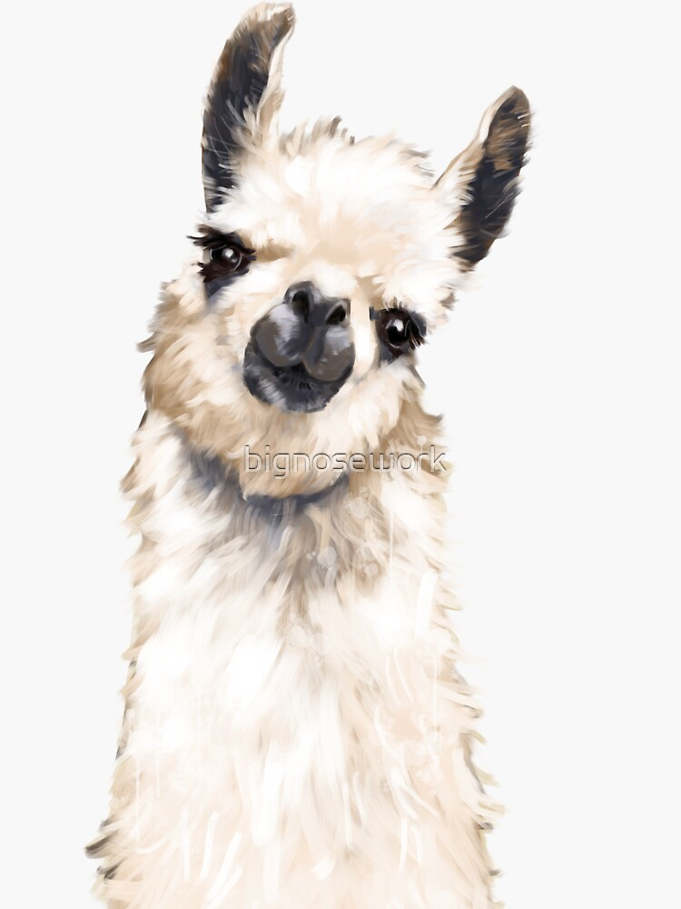 Llama by bignosework