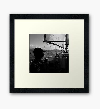 Heading Home Framed Print