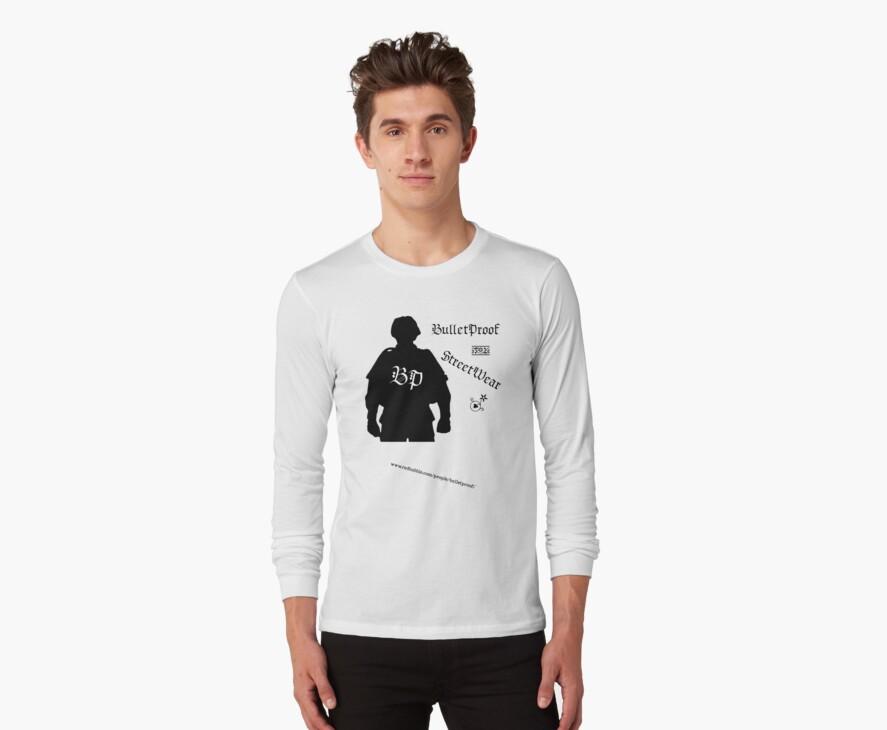 Kevlar Logo (Black) T - Bulletproof Street by BulletProof