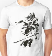 Abstract Wind Night Sword Master T-Shirt
