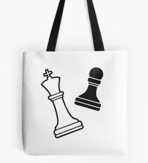 Chess Brain Game Tote Bag