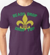 b57683a5 Beads Drop Drop Top (arch) (Green/Gold) Unisex T-Shirt