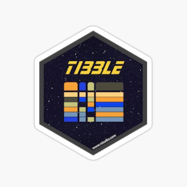 tibble Sticker