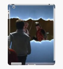 bttf doctor who iPad Case/Skin