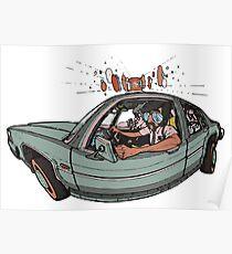 Beastie Boys - Sabotage  Poster