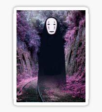 Spirited Away No Face Sticker