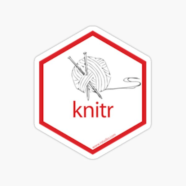 knitr Pegatina