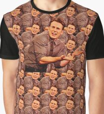 Chris Evans everywhere Graphic T-Shirt