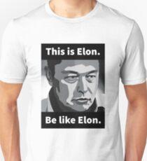 Camiseta ajustada Elon Musk - Este es Elon, se como Elon