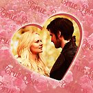 Captain Swan Heart Design 3 by Marianne Paluso