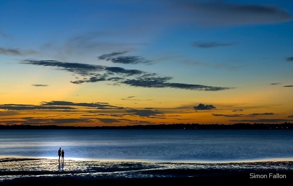Wellington Point Sunset by Simon Fallon