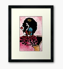 Lips as Red as Blood Framed Print