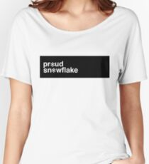 Proud Snowflake Women's Relaxed Fit T-Shirt