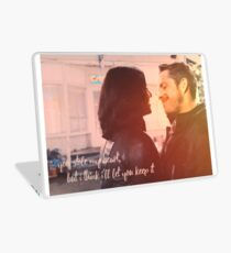 """Outlaw Queen/Regina Mills + Robin Hood // """"You Stole My Heart, But I Think I'll Let You Keep It"""" Laptop Skin"""
