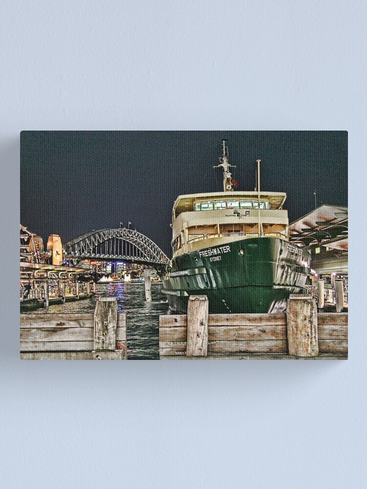 Alternate view of Sydney Series - Manly Ferry Canvas Print