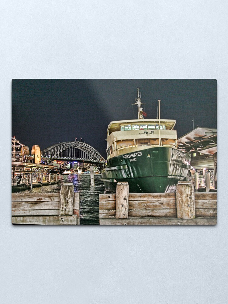 Alternate view of Sydney Series - Manly Ferry Metal Print