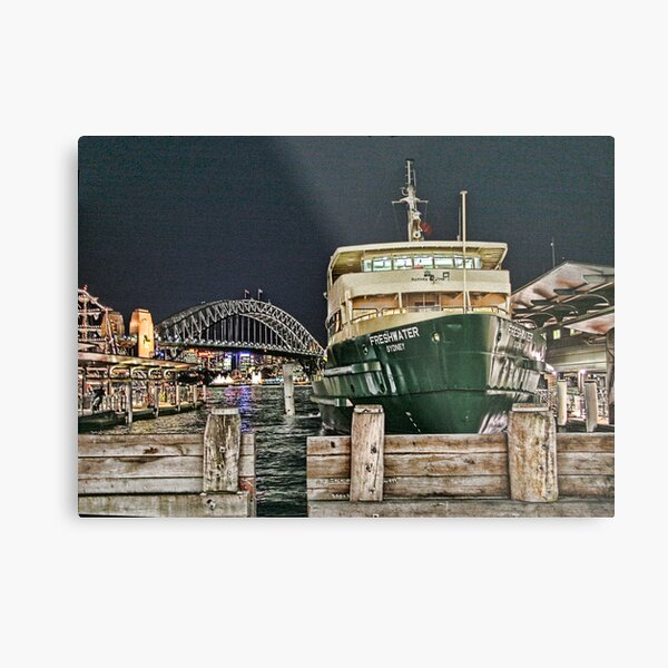 Sydney Series - Manly Ferry Metal Print