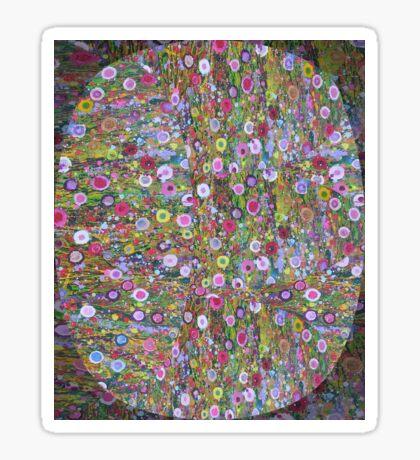 Psychedelic Pattern | Flower Frenzy Sticker