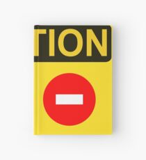CAUTION: Do not enter red circle Hardcover Journal