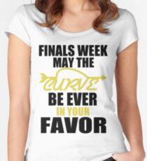 Finals Week Women's Fitted Scoop T-Shirt
