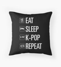 Kpop only Throw Pillow