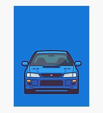 Subaru Impreza WRX STI 1st Gen (Blue) Photographic Print