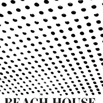 Beach House Bloom Tee Inverted by GlasgowMerch
