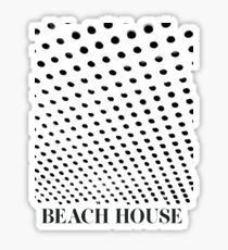 Beach House Bloom Tee Inverted Sticker