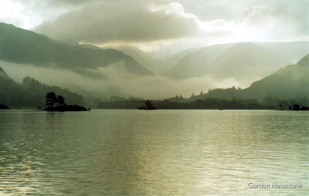 Ullswater Mist by Gordon Hewstone