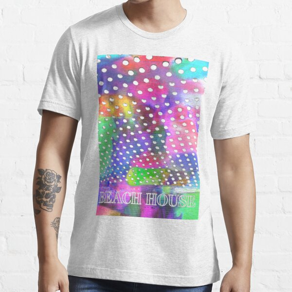 Beach House Bloom psychedelic tee  Essential T-Shirt