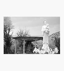 El Santuario de Chimayo Sculpture Garden 2 Photographic Print