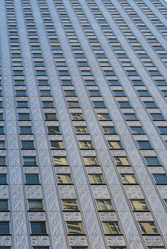 Building Reflection NYC by branning1021