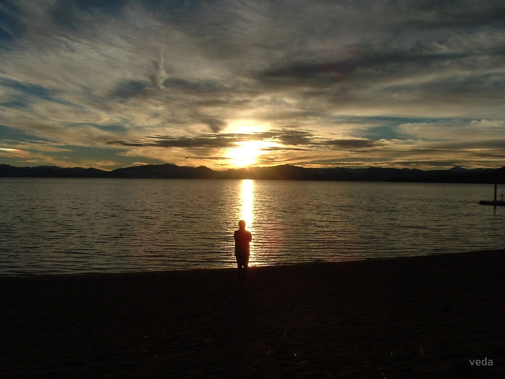 Tahoe sunset 01 by veda