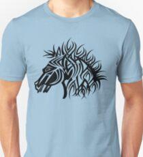 Tribal Horse Cool Vector Art Unisex T-Shirt