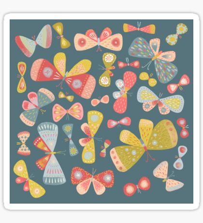 Butterfly Tango Sticker